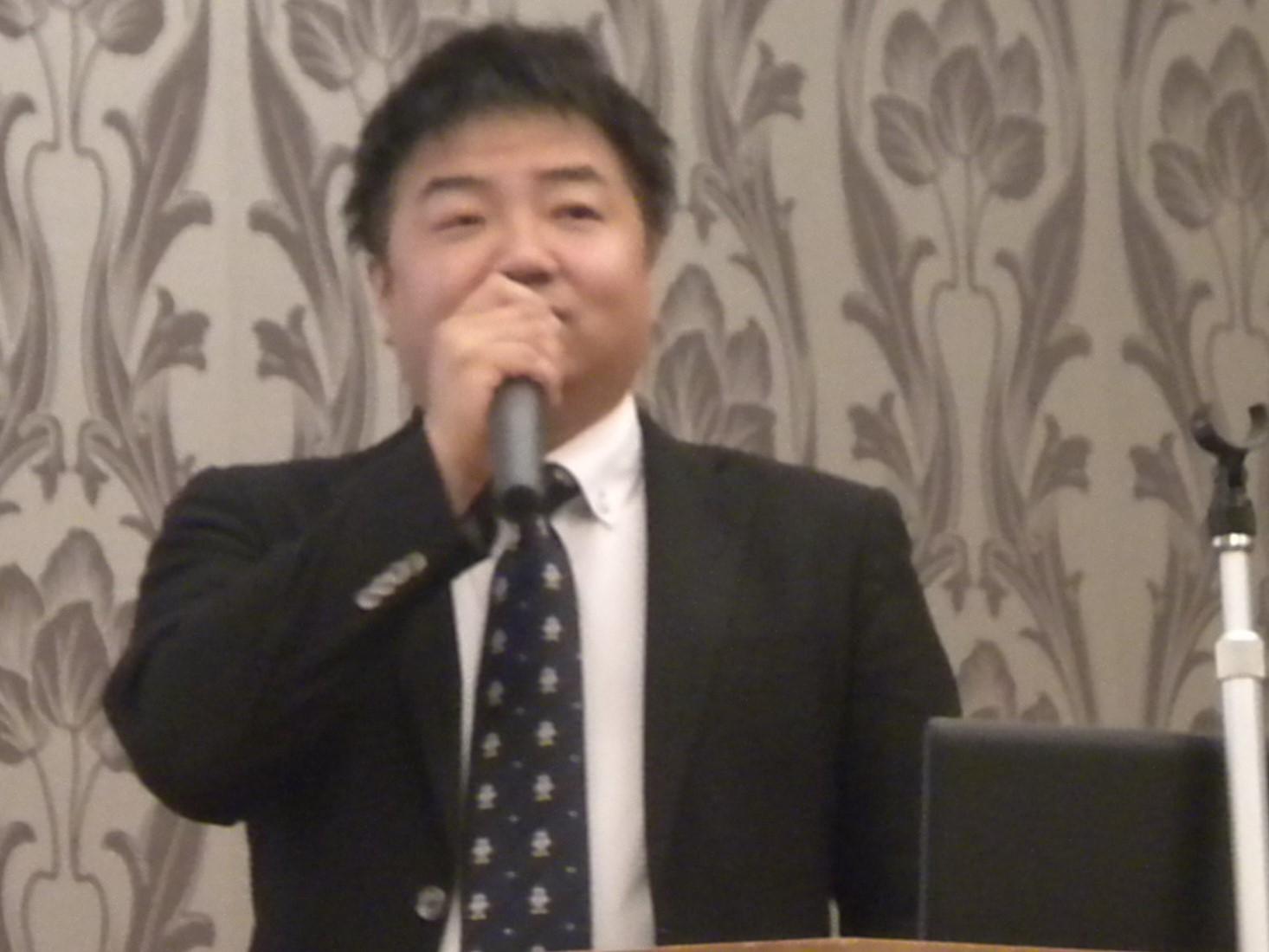 講師の黒川 恵司郎 氏